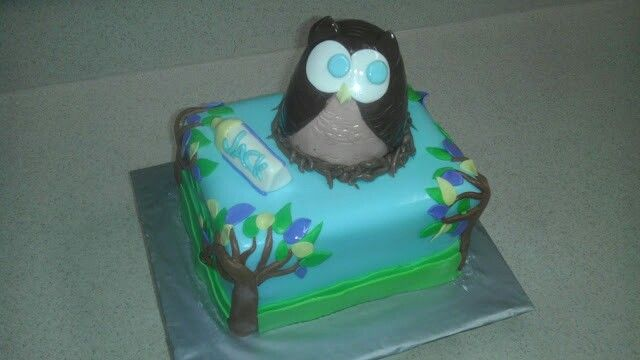 Who's Baby Shower Cake