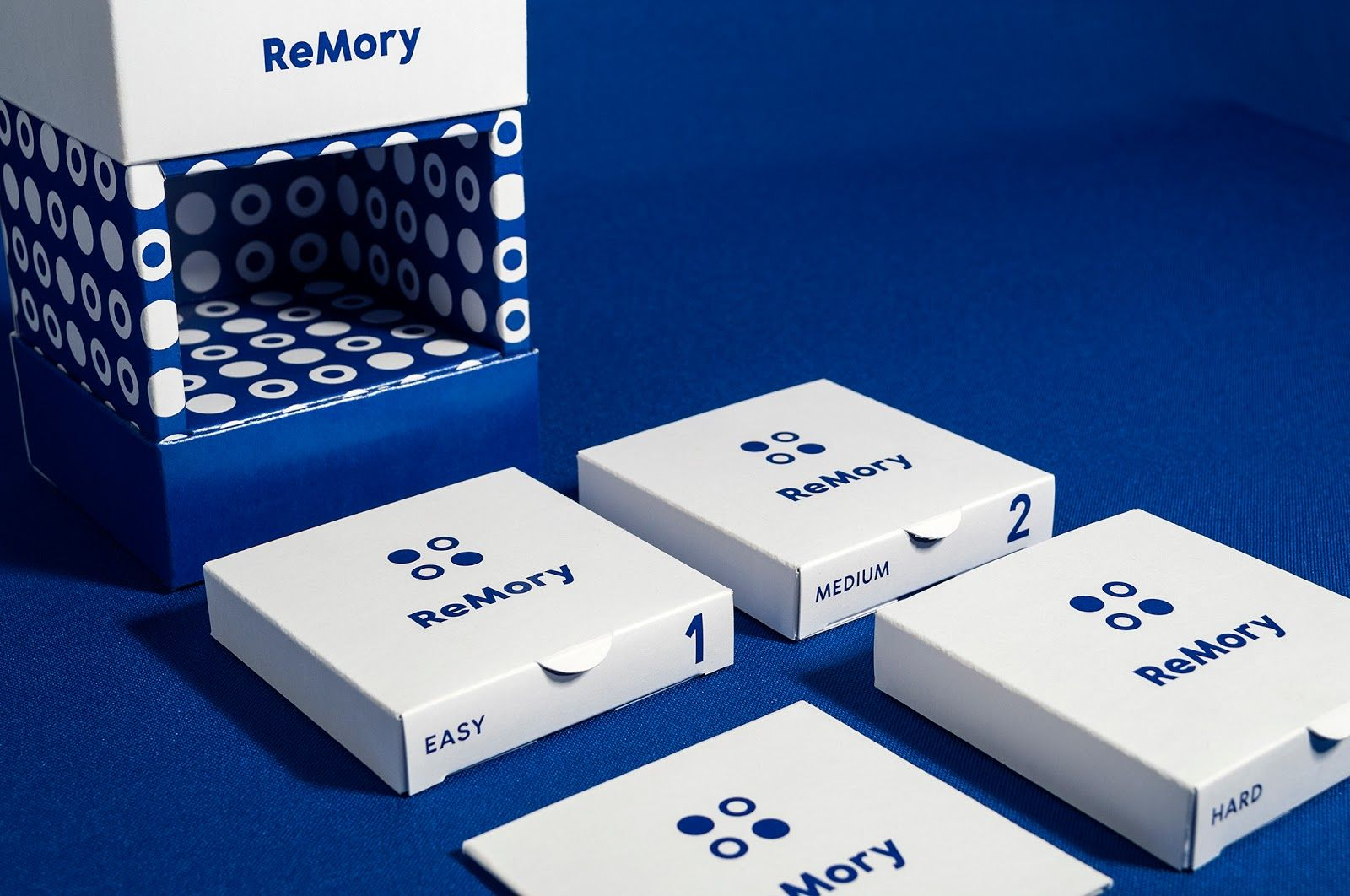 Remory Card Game Student Project Card Games Creative Packaging Design Packaging