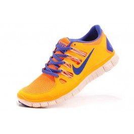 45e2ff22 Nike Free 5.0+ Damesko Oransje Blå | Nike sko tilbud | billige Nike sko på