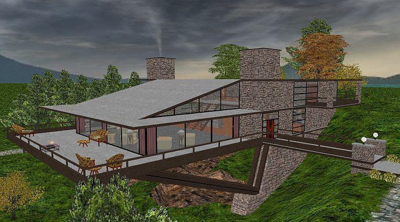 Vandamm House North By Northwest Vandamm House Architecture