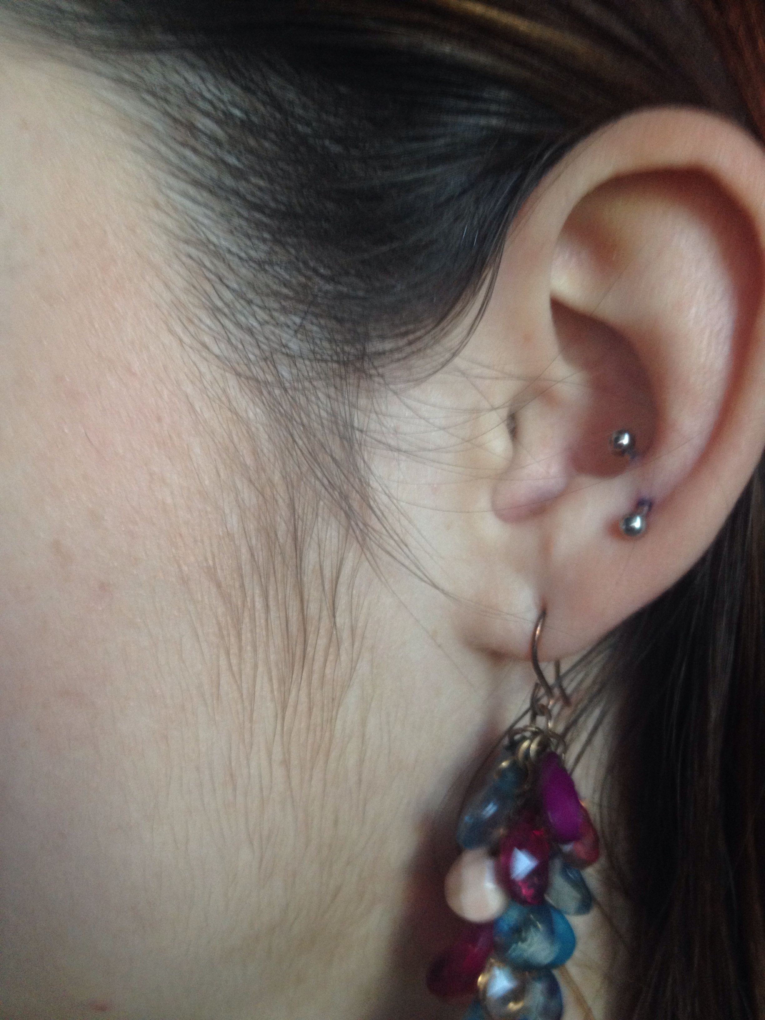 New piercing ideas  My new antitragus piercing I got yesterday   Stylinu  Pinterest