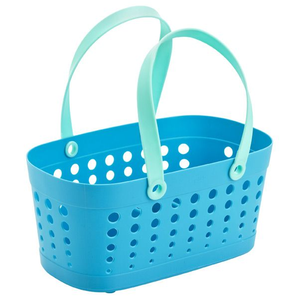 Casabella Grey Flexible Shower Basket   Dorm, Dorm room and ...