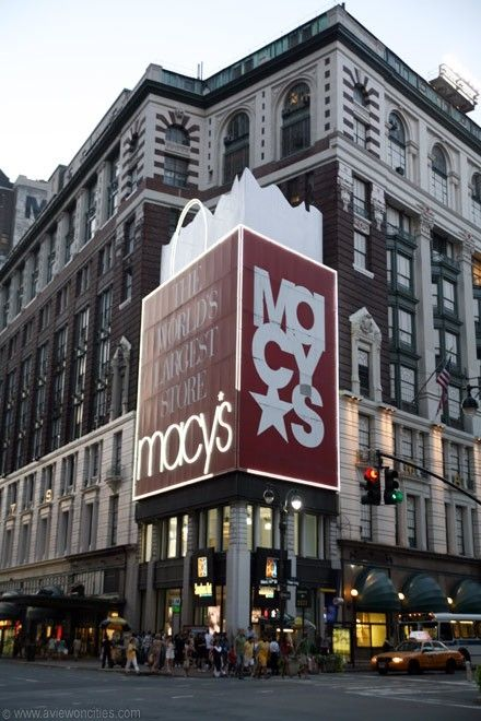 Macy S New York City The Worlds Largest Store New York City Visit New York New York