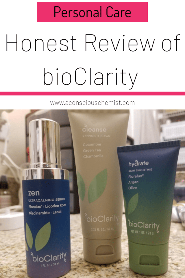 Honest Review Of Bioclarity A Conscious Chemist Bioclarity Skin Care System All Natural Skin Care