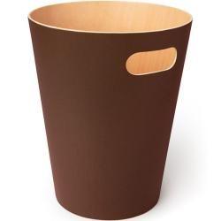 Photo of Waste basket Woodrow umber beige, designer Henry Huang, 28 cm umber