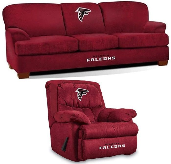 start tab description the atlanta falcons nfl stadium fan cave set includes the first team. Black Bedroom Furniture Sets. Home Design Ideas