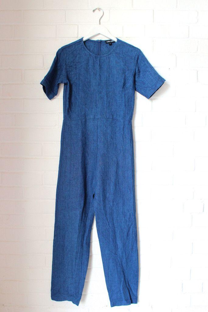 lee jumpsuit (indigo) - Avenue Boutique