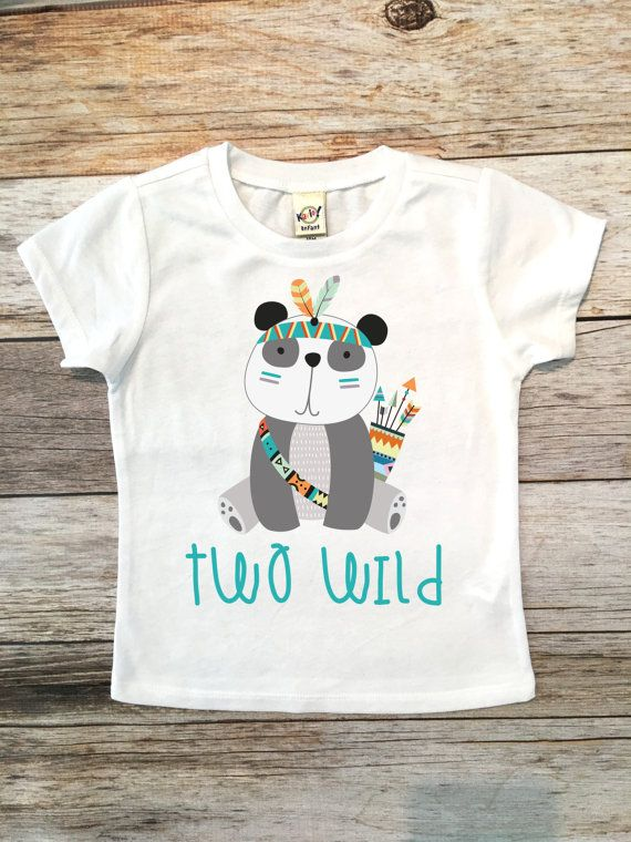 Two Wild Birthday Shirt 2nd By SnowSew