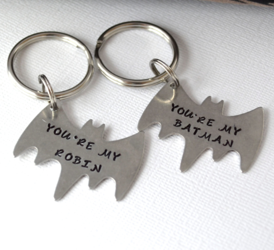 """Cheesy cute girlfriend gifts """"you re my robin and"""