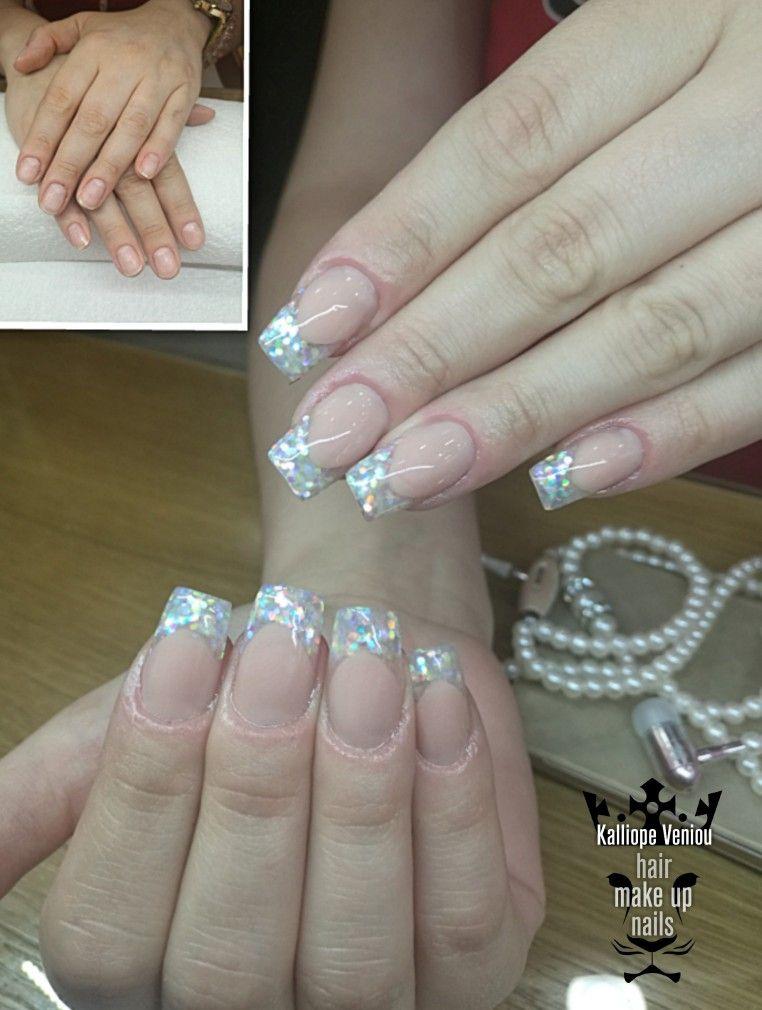 Acrylic nails #nails #acrylic #shinynails #lovenails #beauty ...