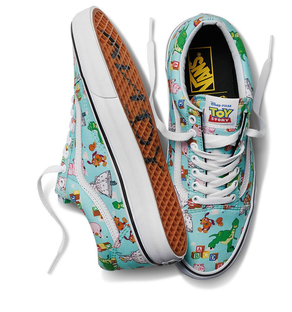 NEW Disney Toy Story x Vans Old Skool Andy s Toys Mens 4 Womens 5.5  Vans   OldSkool a23e9a7cc