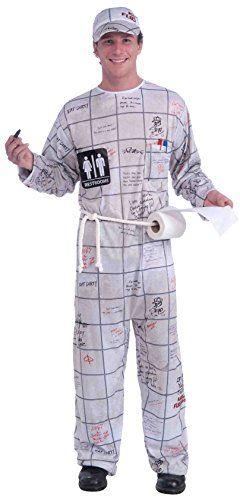 Forum Novelties Mens Bathroom Wall Guy Costume One Size Halloween - halloween costumes ideas men