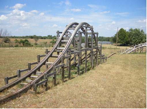 Your own backyard ROLLER COASTER!!   Playset outdoor ...
