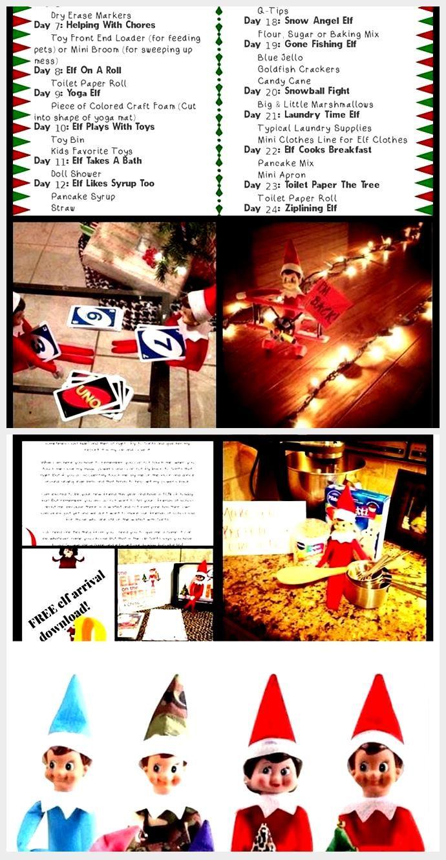 Editable NEW Elf in Shelf Arrival Letter, Farewell Letter