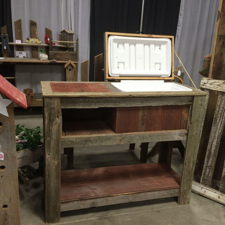 Handmade Barnwood Cooler Wood Furniture Making Cute Diys Barn