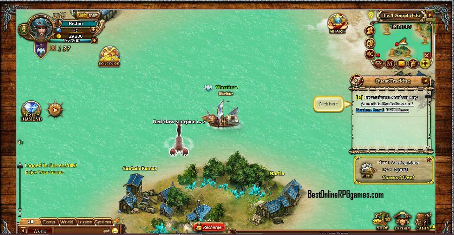 Piratecrusaders A Pirate Browser Game Rated As Best Slg Mmo 2015 Join Thousands Of Others Already Playing This Glorious Title Adventu Mmo Free Mmorpg Games