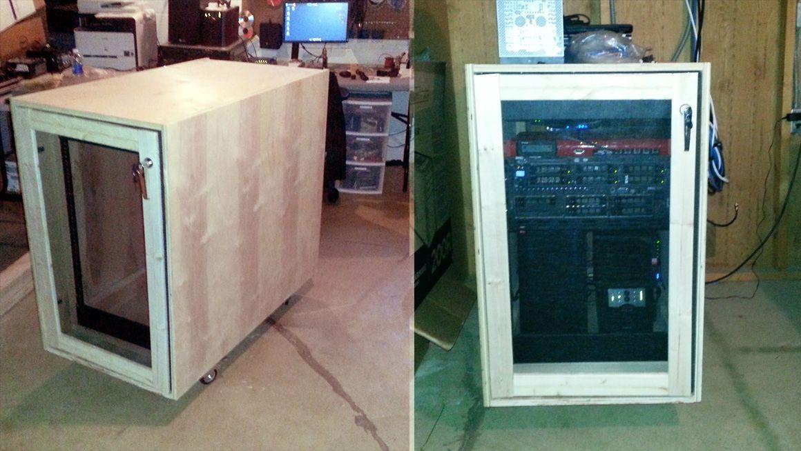 DIY Server Rack Plans Computer Mods Computer rack, Server