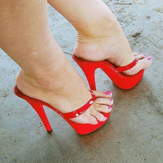 New Lace Women Platform Sandals Mesh Black High Heels Peep