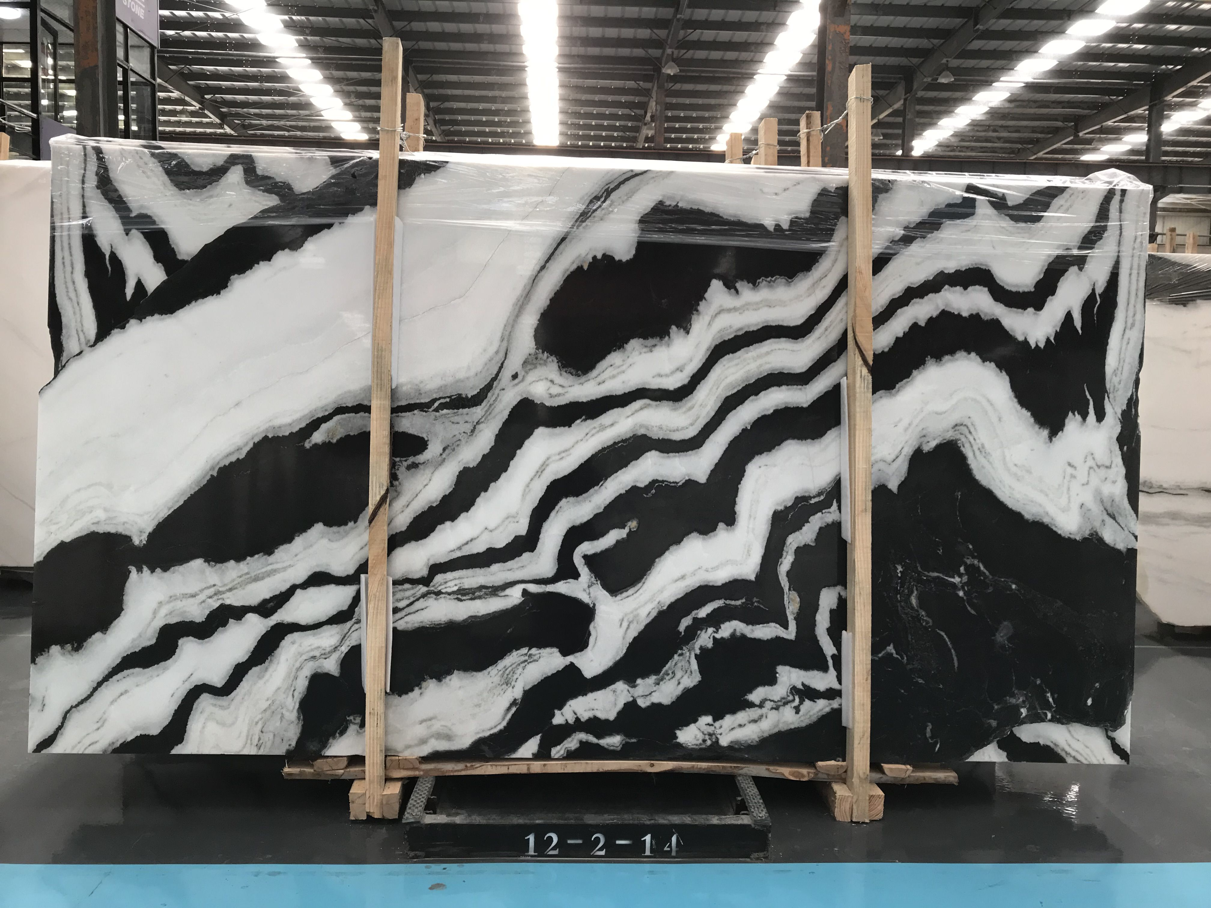 Panda White Marble Is Produced By Sunroad Stone China This Marble Is From China And Available On Stoneroad Cn Marble Slab White Marble Black And White Marble