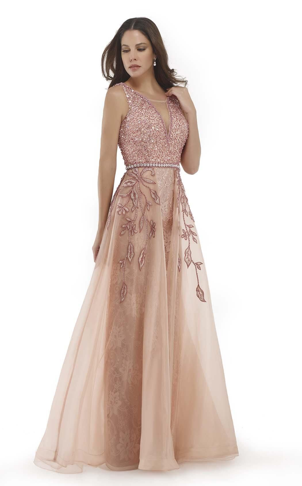 Morrell Maxie 15696 Romantic Lace Overlay And Gowns