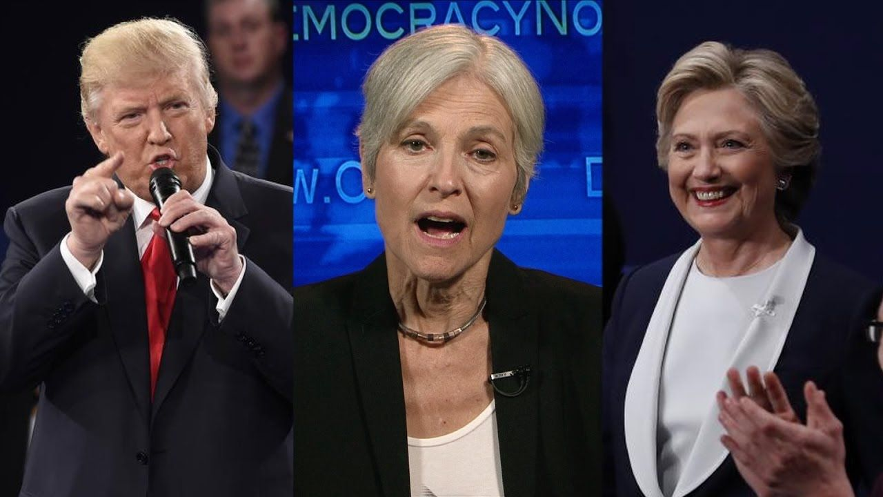 """Part 3: Jill Stein Spars with Clinton & Trump in """"Expanding the Debate"""" 6:26-9:02 for Jills Response."""