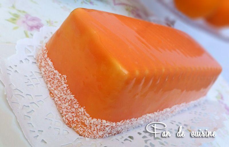 Bavarois à l'orange