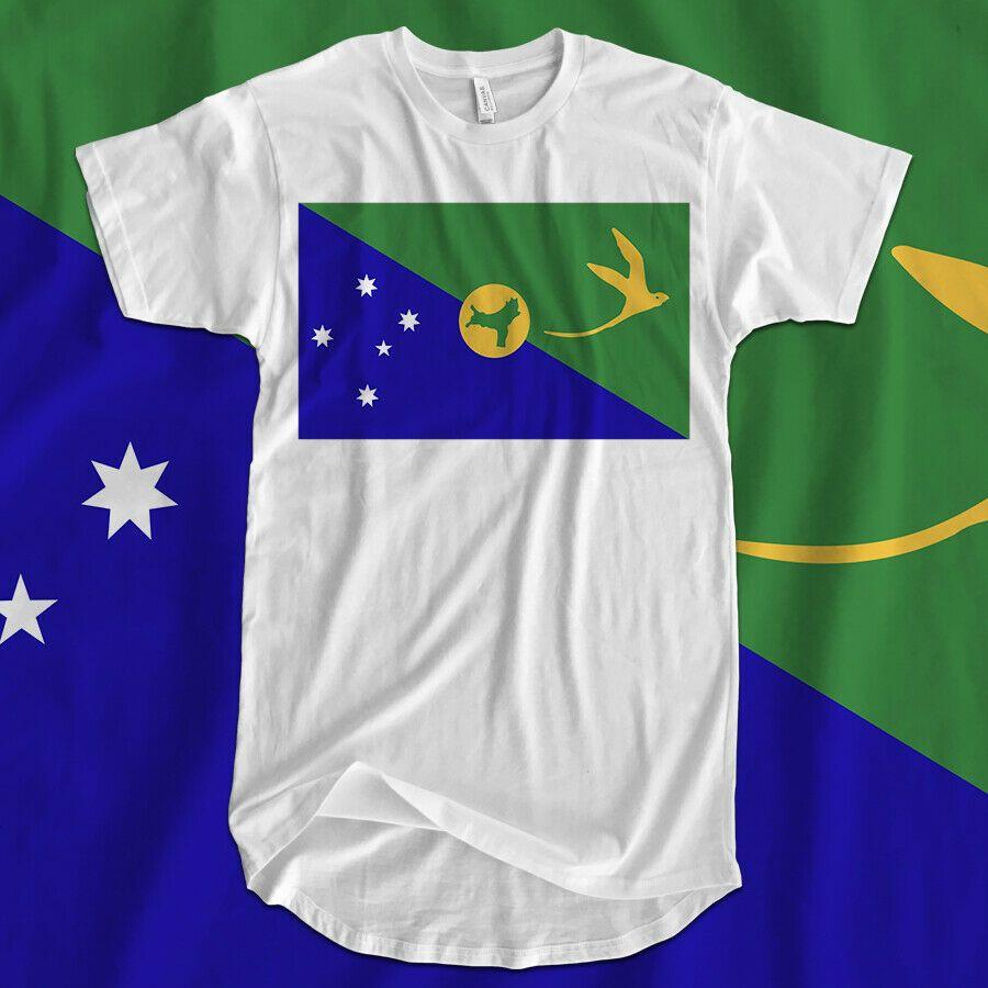 National Flag Iron On T-Shirt Transfer Print Christmas Island
