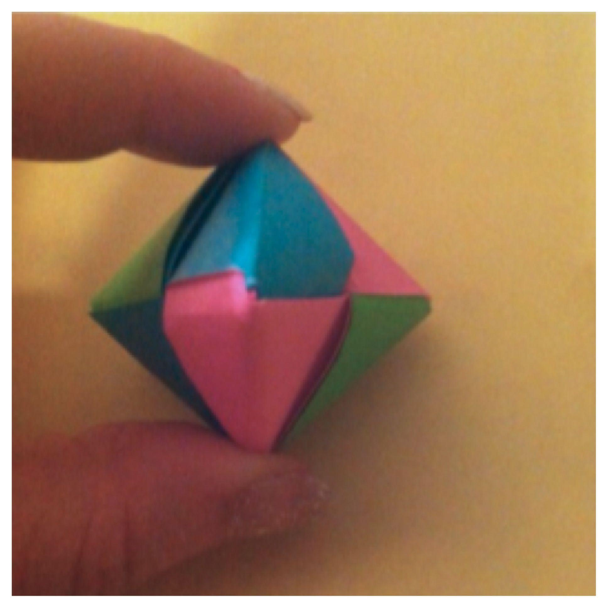 How To Make Origami Jewel Pop Recipe Origami Jewel And Craft