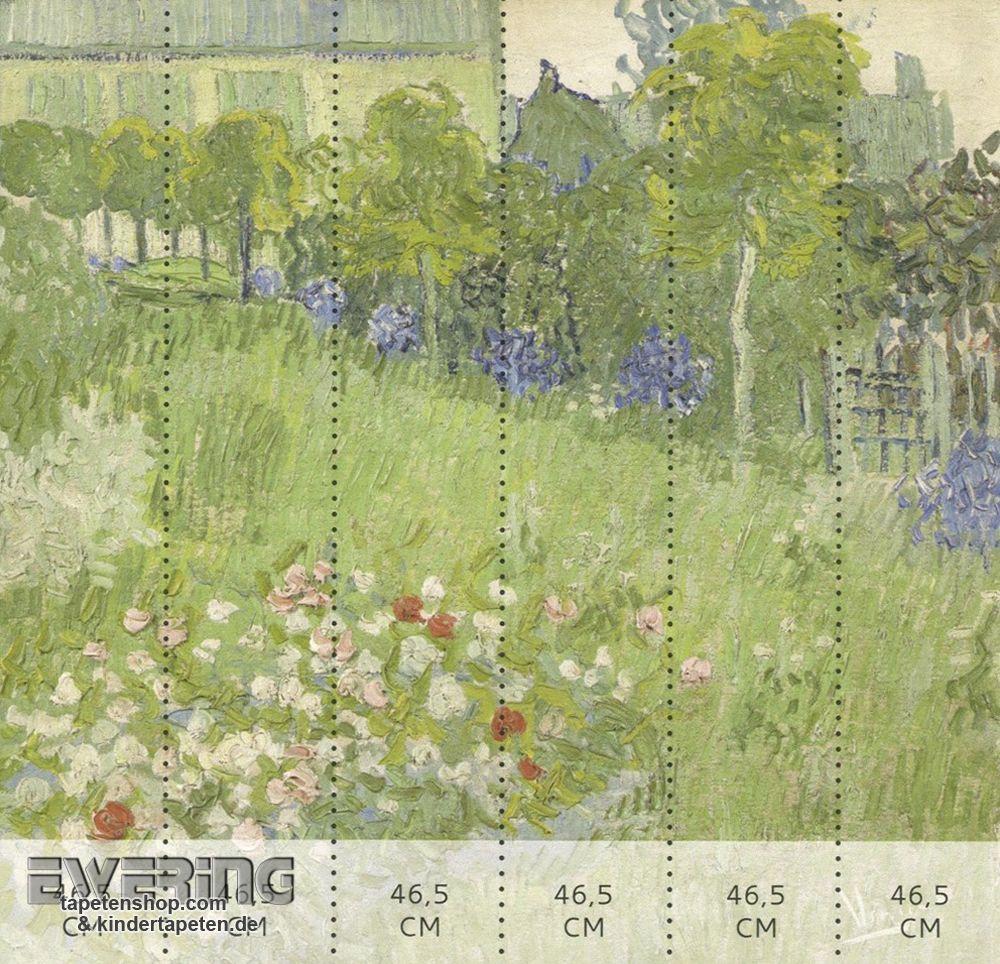 BN Tapeten Van Gogh 12 30547 Garten Motiv Grün Vlies Wandbild