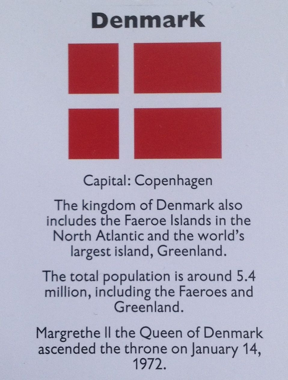 denmark culture facts