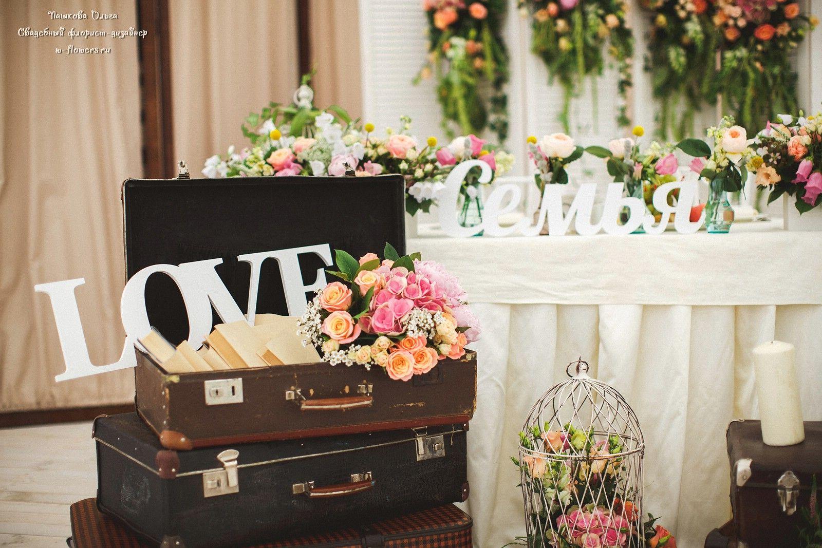 Декор и флористика на свадьбу
