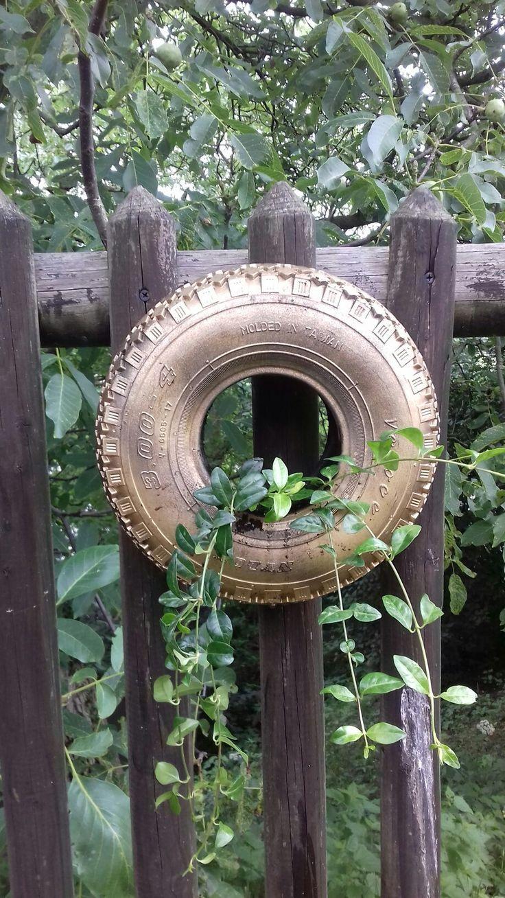 Alte Tür Deko Garten : Die 25 Besten Alte Reifen Ideen Auf Pinterest