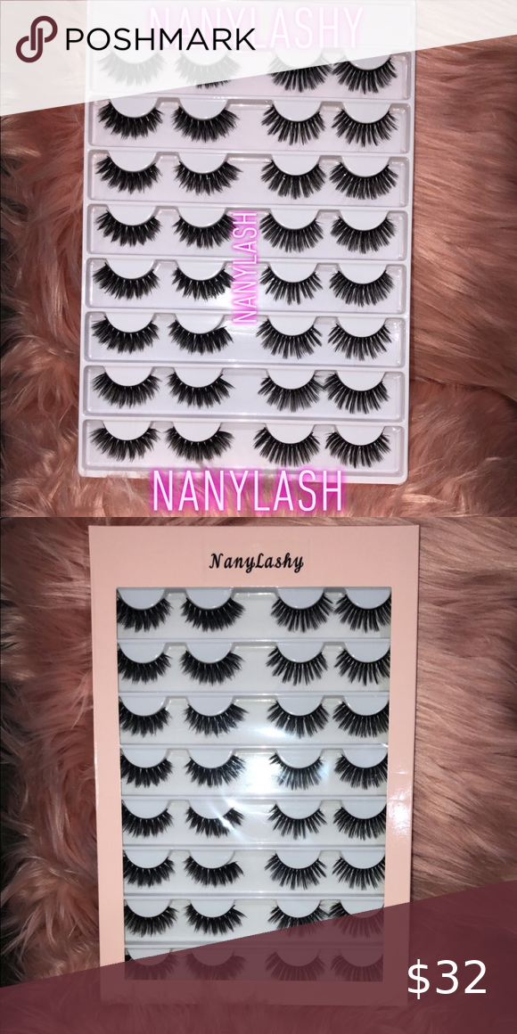🦋🦋16 Pairs Faux Wispy Mink Lashes LashBook 🦋🦋 🦋🔥🔥 NEW 16 pairs 3D Faux Mink Hair False Eyelashes Natural Long /Thick 3D Eyelashes Crisscross Full Strip Lashes Handmade Eyelashes🔥🔥🦋 #WispyLashes #FauxLashes #3dlashes #Crueltyfreelashes ‼️‼️Add more to save more on order and shipping ‼️‼️ Makeup False Eyelashes