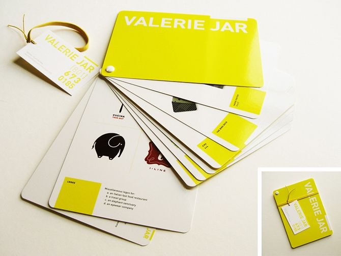 A personal leave-behind portfolio and business card. | Design ...