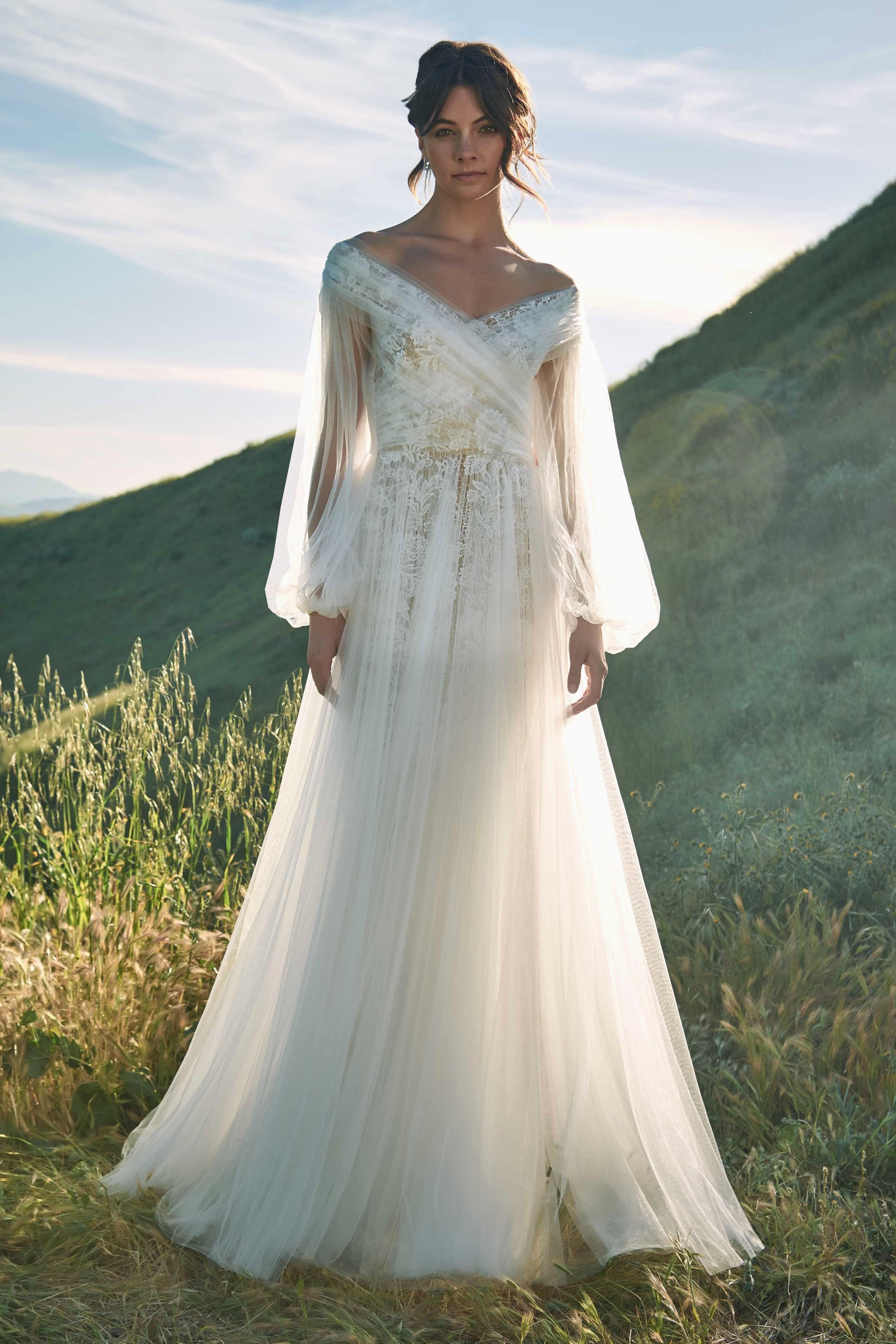 44+ Pearl wedding dress long sleeve information