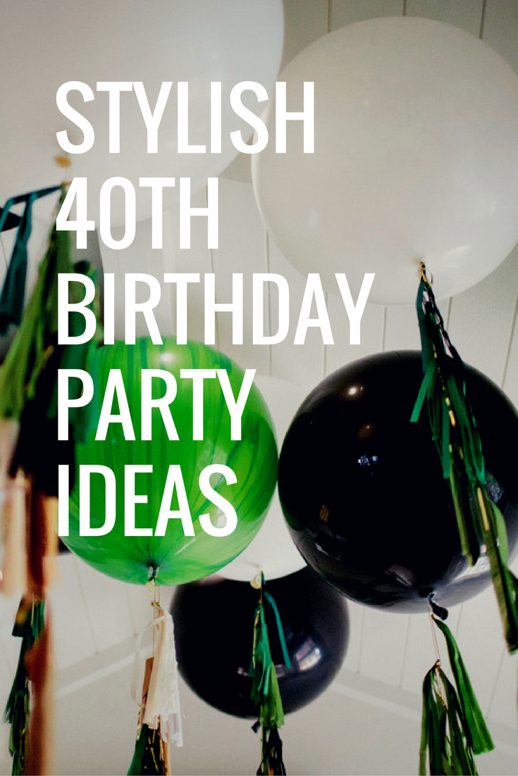 Stylish 40th Birthday Party Ideas in Green & Black - Parties Inc  #40th #40thbirthday #40thbirthdayparty #party #birthday #birthdayparty #parties #birthdayparties #40thparty #birthdays #balloons #birthdayballoons #partyideas #birthdayideas #40thideas #stylishparty #style #partyballoons #partydecor #partydecorations #partyblog #partyinspiration #green #black