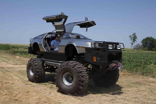 Delorean Collector Creates Monster Truck Based On The Dmc 12