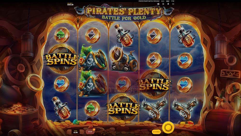 Pirates Plenty Battle For Gold Slot Machine