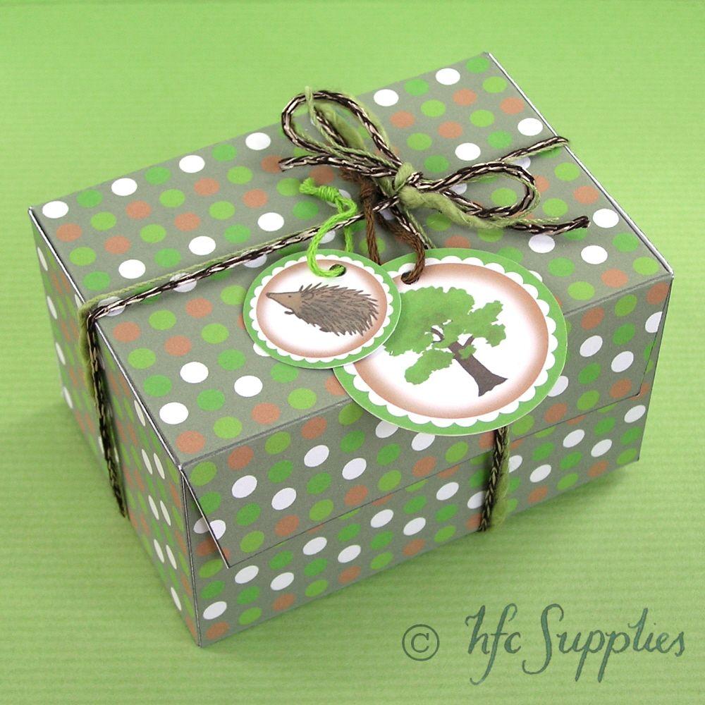 Hazel fisher creations printable gift box tutorial homemade