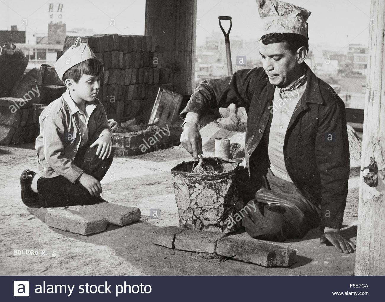 Download this stock image: 1956; El Bolero De Raquel. Original Film Title: