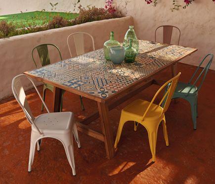mesa + sillas (625 €) (sillas 45 €; mesa 355 €)   Cueva y Terraza ...