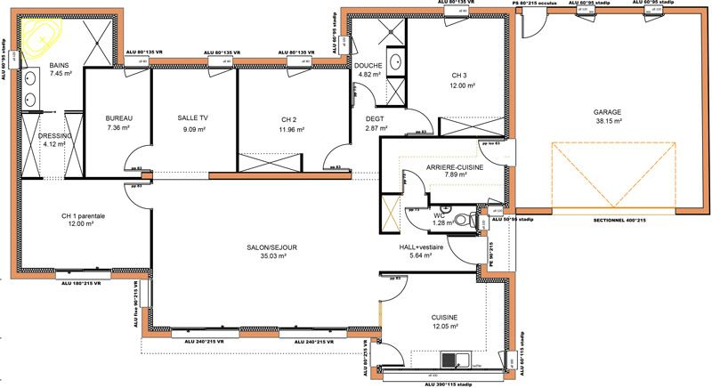 Plan De Maison A 4 Chambres Selection De 10