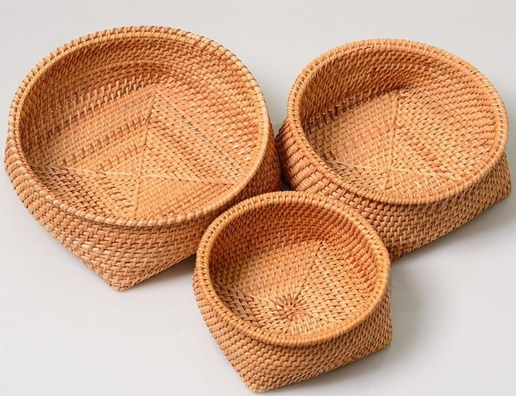Fruit Baket Handmade Storage Basket Woven Basket Rustic Basket Home Decor Basket Weaving Rustic Baskets Hand Weaving