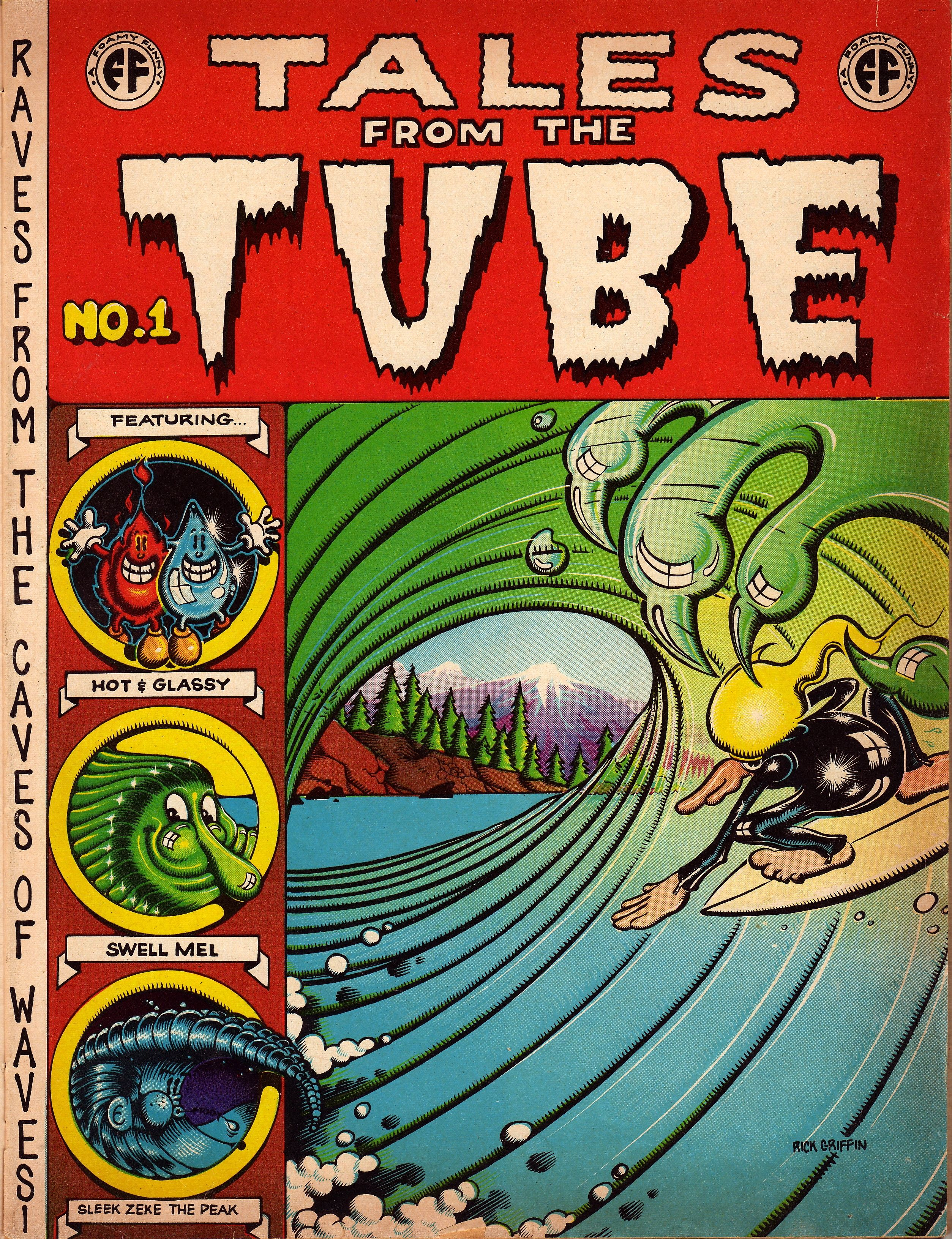 Tales from the tube cover by rick griffith
