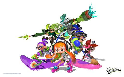 Splatoon - Wii-U.  Découvrez Splatoon plus en détail, le nouveau jeu de tir à venir sur Wii U le 29 mai !
