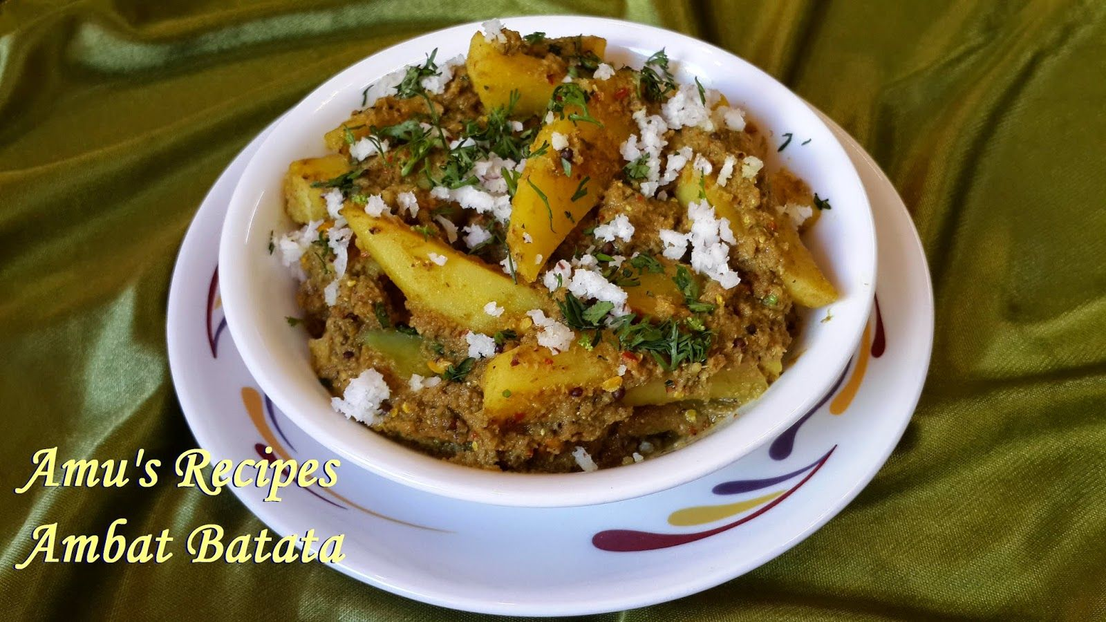 Amus recipes ambat batata delicious pinterest veg recipes ambat batata literally means tangy potato this is again a gsb saraswat brahmin recipe that is made during festivities forumfinder Gallery