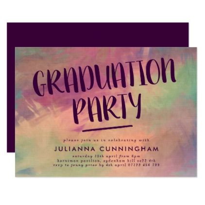 Bold abstract graduation party invitation graduation party bold abstract graduation party invitation graduation party invitations card cards cyo grad celebration graduation party invitations pinterest party filmwisefo Choice Image