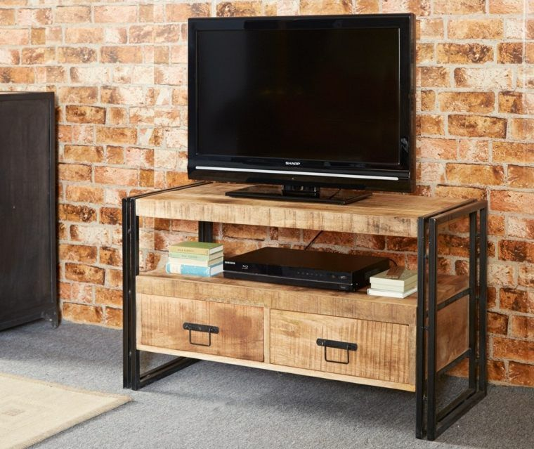 Personnalisez votre salon avec le meuble tv industriel ! | Salons