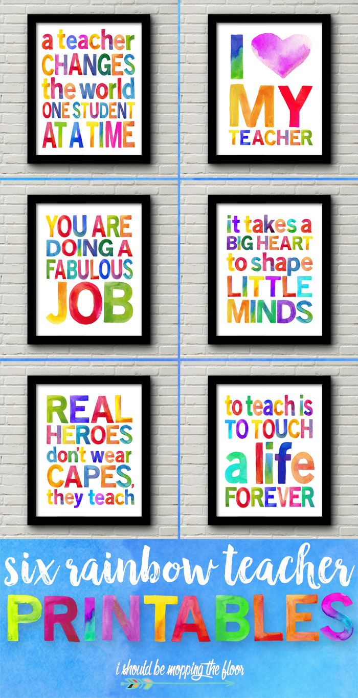 Watercolor Teacher Appreciation Printables Teachers Appreciation Week Gifts Teacher Appreciation Gifts Teacher Gifts