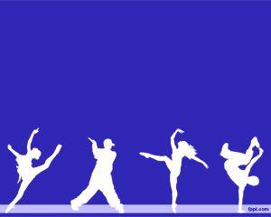 dance powerpoint template